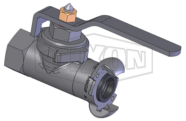 Minsup Econovalve Female x A-Type Ball Valve