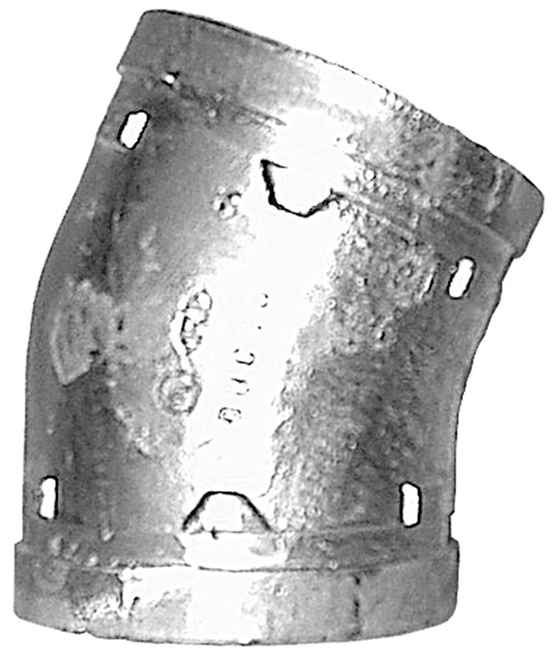 Grooved End 22.5° Elbow