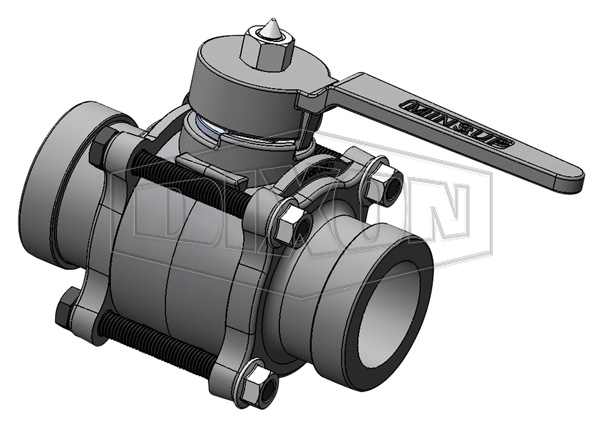 Minsup Econovalve Shouldered Ball Valve