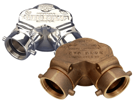 Double Clapper Siamese Connection Bottom Outlet