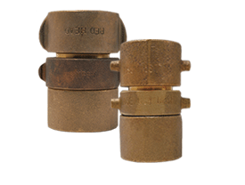 Expansion Ring Coupling for Double Jacket Hose, Brass