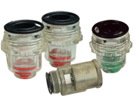Series 1 Lubricator Sight Feed Dome