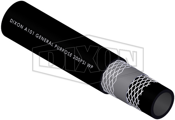 Rubber General Purpose Black Hose (A101)