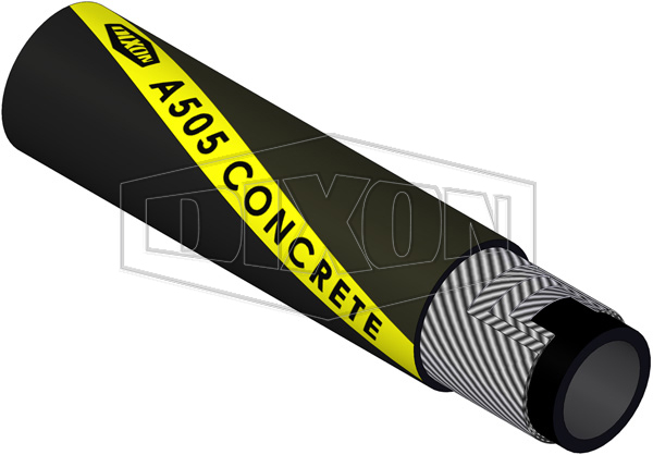 Rubber Concrete Placement Hose Steel Cord (A505)