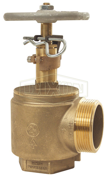 Global Adjustable Pressure Restricting Angle Valve Male Outlet