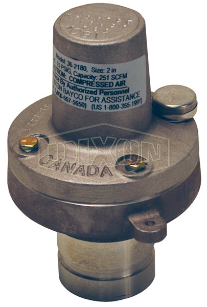 Air Relief Valve Fixed Pressure Grooved