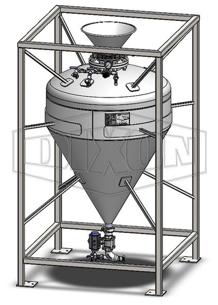 Anfo Loader Pressure Vessel