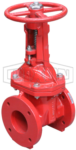 Approved OS&Y Flanged Gate Valve