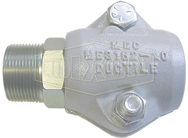 LP Gas Clamp Style Male NPT Coupling
