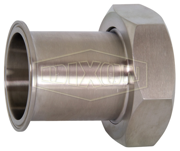Clamp x Plain Bevel Seat Adapter with Hex Nut