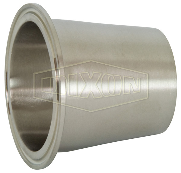 Polished Concentric Clamp x Weld Reducer