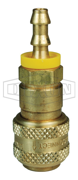 D-Series Pneumatic Automatic Push-Loc Hose Barb Coupler