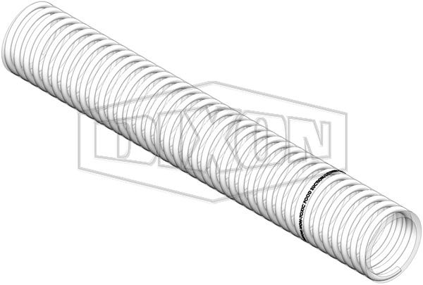 Metalflex PVC Suction Hose - Food Grade