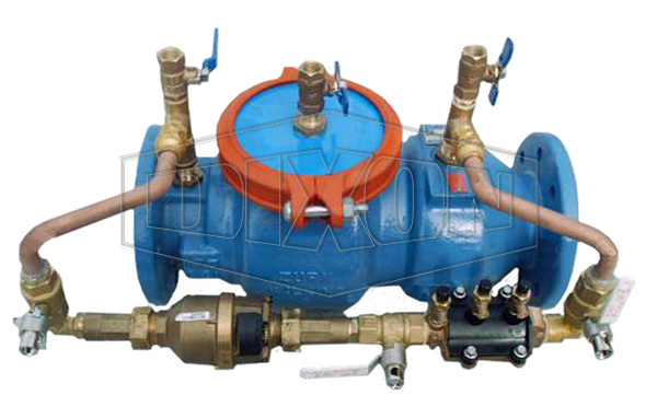 Double Detector Check Valve with By-Pass