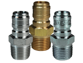 DQC E-Series Straight Through Interchange Male Plug