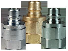 DQC V-Series Snap-Tite H/IH Interchange Valved Female Plug