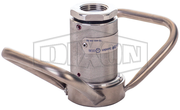 MannTek Dry Disconnect Steam Coupler x Female NPT