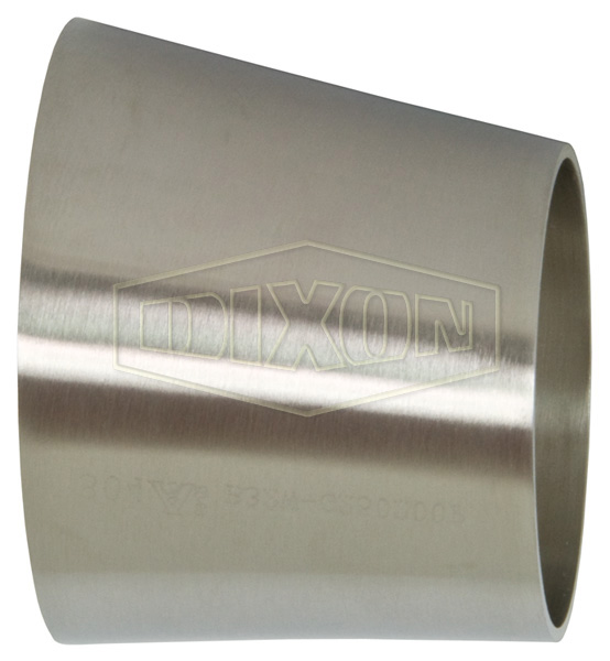 Polished Eccentric Weld Reducer