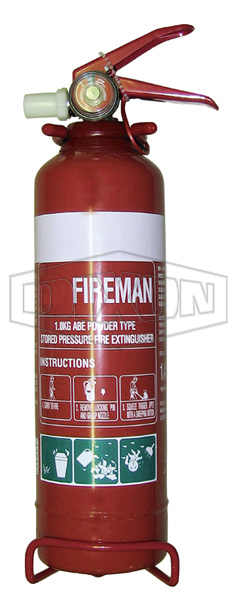 Fireman ABE Powder Fire Extinguisher