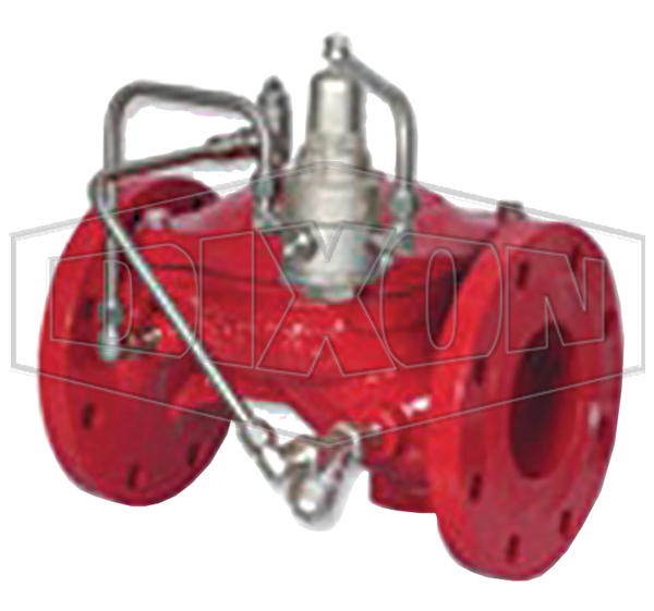 Pressure Reducing Bermad Valve Flanged