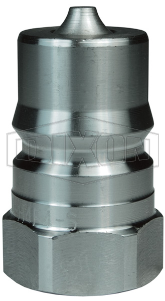 DQC H-Series ISO-B Food Grade Female Threaded Plug