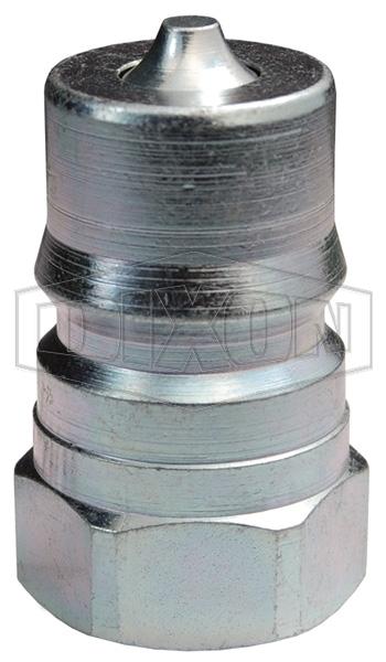 DQC H-Series ISO-B Steel Mill 'Slide Gate' Female Threaded Plug