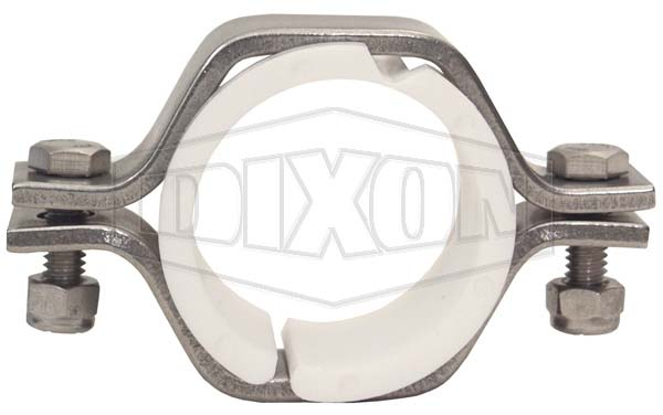 Pipe Size Hex Hanger with Polypropylene Sleeves
