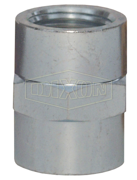 Female NPTF Hex Pipe Coupling