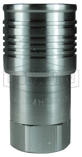 DQC HT-Series Flushface Female Threaded Coupler