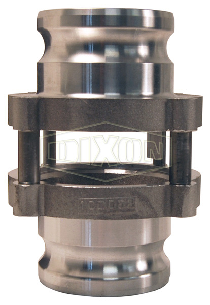 Cam & Groove In-Line Sight Glass Adapter x Adapter