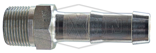 King™ Steel Hex Nipple for 2 Clamps