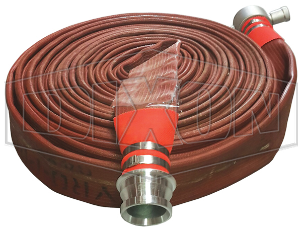 Layflat Fire Hose Fitted
