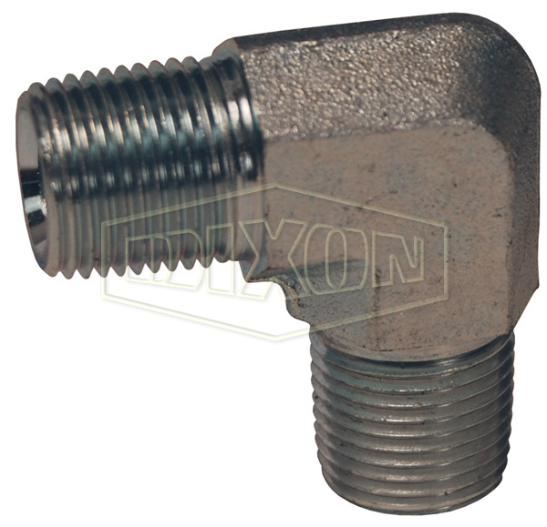 90° Male NPTF x Male NPTF Elbow