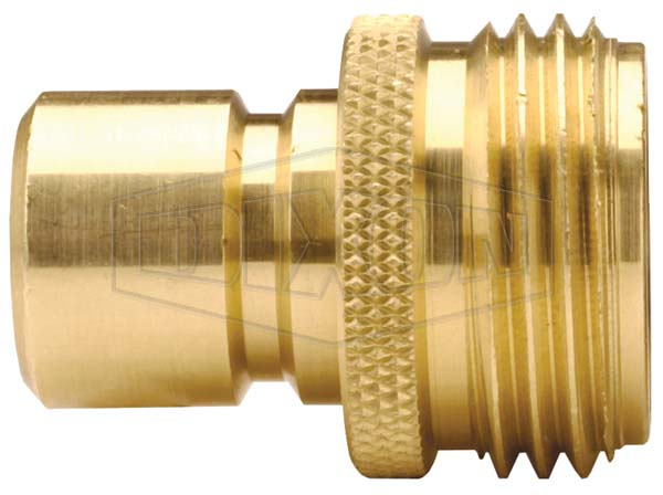 Garden Hose Quick Connect Male Plug