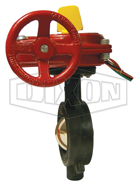 Monitored Wafer Butterfly Valve