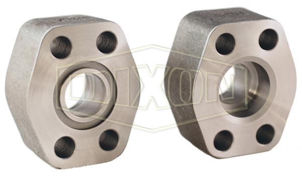 Hydraulic 4-Bolt Flange Pipe Socket Weld