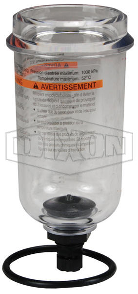 Watts FRL's Polycarbonate Bowl with Twist Drain