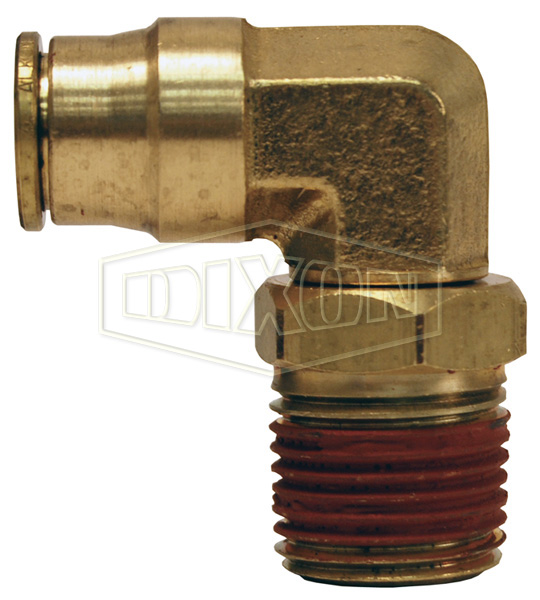 Push-In Male Swivel Elbow