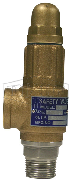 Relief Valve with Side Outlet