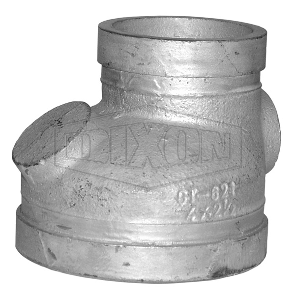 Grooved Eccentric Reducer