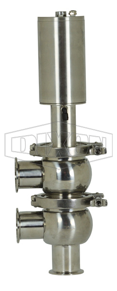 SV-Series Single Seat Hygienic Valve F Body Double Acting