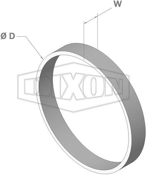 Shouldered Weld Ring