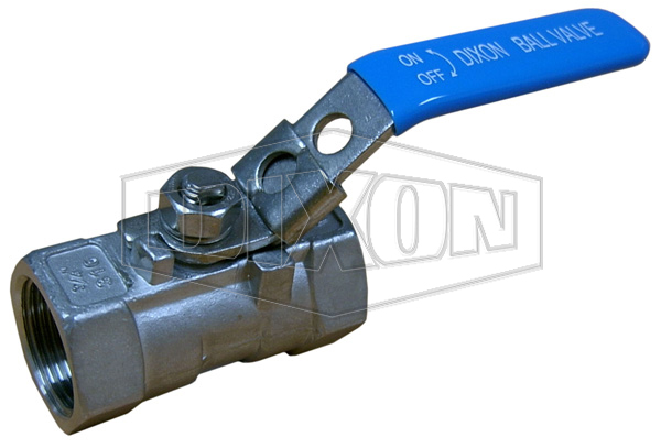 1 Piece Locking Stainless Steel Ball Valve BSP