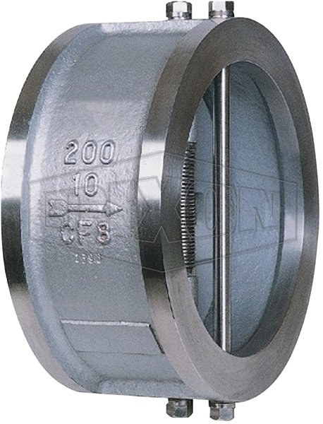 Duo Wafer Check Valve Stainless Steel