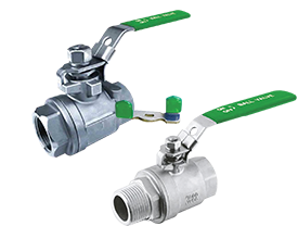 Stainless Steel Two Piece Ball Valve