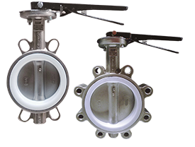 316 Stainless Steel Wafer & Lugged Butterfly Valves