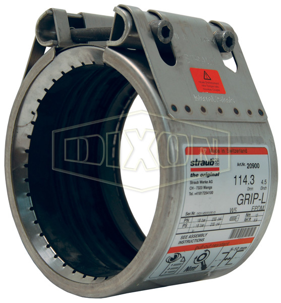 Straub Grip-L Axial Restraint Pipe Coupling