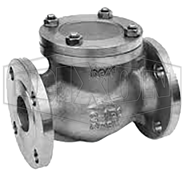Cast Steel (WCB) Swing Check Valve Flanges ANSI 150