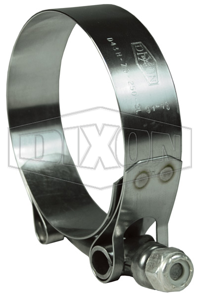 T-Bolt Stainless Steel Super Clamp