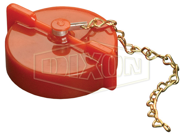 Thermoplastic Pressurized Cap with Chain